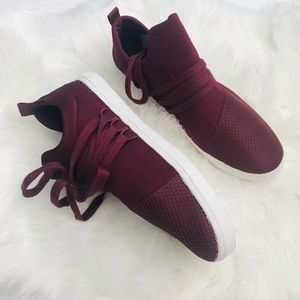 Brash Drea Lace Up Sneakers Maroon Size 11